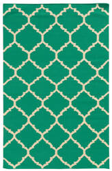 PANTONE UNIVERSE Matrix 4280j Green/ Ivory Area Rug