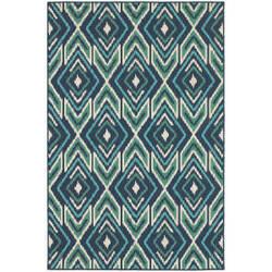 Oriental Weavers Meridian 2209b Navy Area Rug