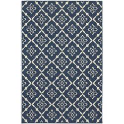 Oriental Weavers Meridian 5703b Navy Area Rug