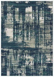 Oriental Weavers Montage 5990b Blue - Grey Area Rug