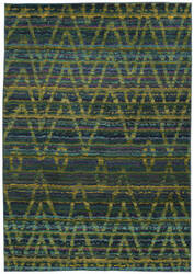 Oriental Weavers Nomad 305g5 Green / Blue Area Rug