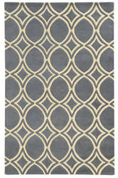PANTONE UNIVERSE Optic 41107 Charcoal Gray Area Rug