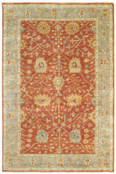Tommy Bahama Palace 10306 Red Area Rug