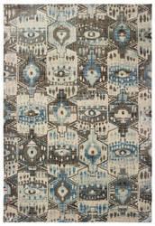 Oriental Weavers Pandora 1334w Blue - Brown Area Rug