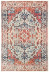 Oriental Weavers Pandora 070w7 Blue - Orange Area Rug