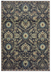 Oriental Weavers Raleigh 022k5 Navy - Ivory Area Rug