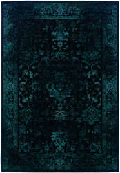 Oriental Weavers Revival 3689g Black Area Rug