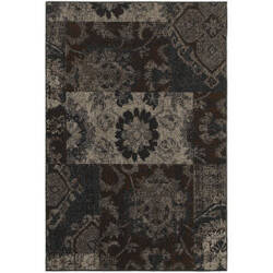 Oriental Weavers Revival 4712c Charcoal Area Rug