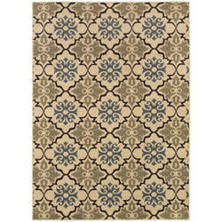 Oriental Weavers Stratton 6015a Blue Area Rug