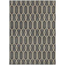 Oriental Weavers Stratton 6019a Blue Area Rug