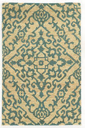 Tommy Bahama Valencia 57703 Beige/Blue Area Rug