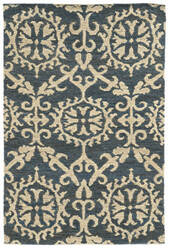 Tommy Bahama Valencia 57704 Blue/Beige Area Rug