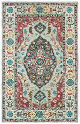 Oriental Weavers Zahra 75504 Grey - Pink Area Rug