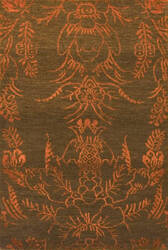 Private Label Oak 148241 Brown - Orange Area Rug