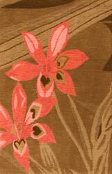 Private Label Oak 148316 Brown Area Rug