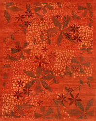 Private Label Oak 148320 Red Area Rug
