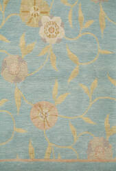 Private Label Oak 148345 Blue Area Rug