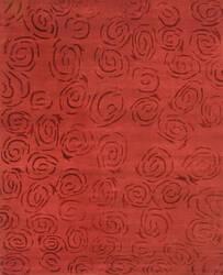Private Label Oak 148354 Red Area Rug