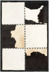 Ralph Lauren Douglas RLR5918A Mountain Black Area Rug