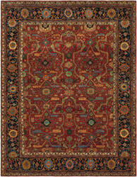 Ralph Lauren Richmond RLR9551A Vintage Red Area Rug