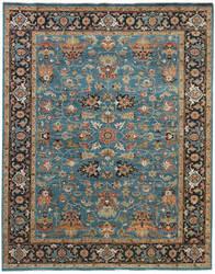 Ramerian Anthia 1200-ANQ Turquoise Area Rug