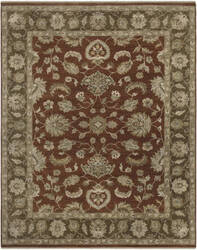 Ramerian Artemisia 800-ARS Red - Brown Area Rug