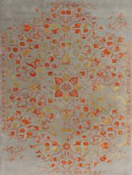 Ramerian Arthurine 300-ART Silver - Orange Area Rug