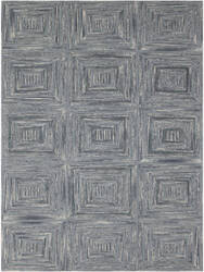 Ramerian Dirce 100-DWE Steel Blue Area Rug