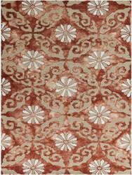 Ramerian Kandace 1100-KAN Marsala Red Area Rug
