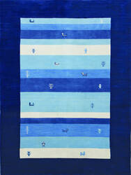 Ramerian Noma 1200-NOM Navy Blue Area Rug