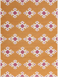 Ramerian Zada 2000-ZAR Orange Area Rug