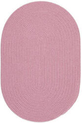 Rhody Rugs Happy Braids Hb08 Solid Pink Area Rug