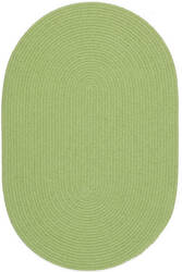 Rhody Rugs Happy Braids Hb44 Solid Lime Area Rug