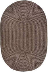 Rhody Rugs Wearever S026 Dark Taupe Area Rug