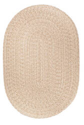 Rhody Rugs Solid S100 Sand Area Rug