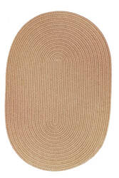 Rhody Rugs Solid S101 Wheat Area Rug