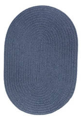 Rhody Rugs Solid S102 Sailor Blue Area Rug