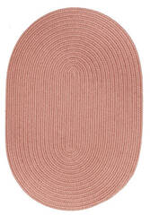 Rhody Rugs Solid S106 Old Rose Area Rug