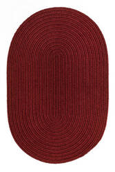 Rhody Rugs Solid S121 Barn Red Area Rug