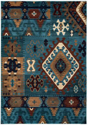 Rizzy Bellevue Bv-3704 Blue Area Rug