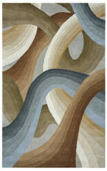 Rizzy Colours Cl-1679 Tan - Ivory - Brown Area Rug