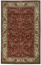 Rizzy Craft Cf-0816 Red Area Rug