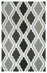 Rizzy Country Ct-2594 Black - Grey Area Rug