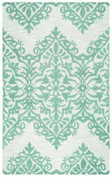 Rizzy Luniccia Li-9514 Green - Grey Area Rug