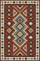 Rizzy Mesa Mz056b Red Area Rug