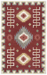Rizzy Mesa Mz161b Red Area Rug