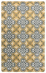 Rizzy Opus Op-8100 Yellow Area Rug