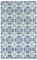 Rizzy Opus Op-8136 Off White Area Rug