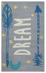 Rizzy Play Day Pd-599a Gray Area Rug