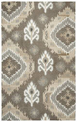 Rizzy Suffolk Sk-366a Brown Area Rug